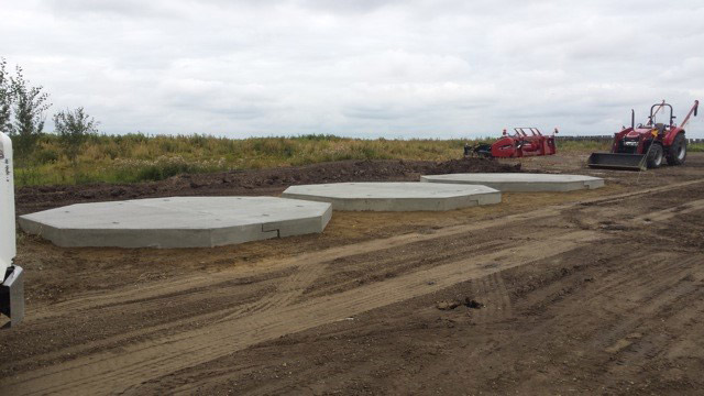 Altamix Concrete - PreCast Bin Pads